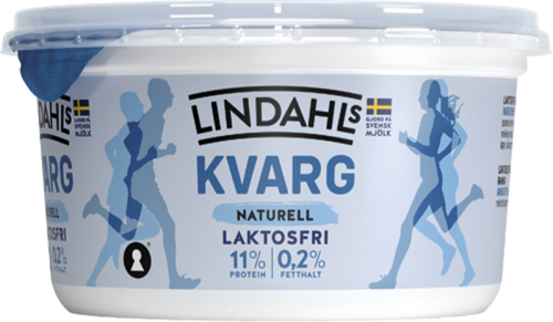 Laktosfri kvarg naturell 500g