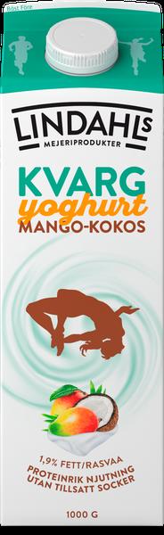 Kvargyoghurt mango-kokos