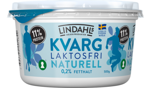 Laktosfri kvarg naturell