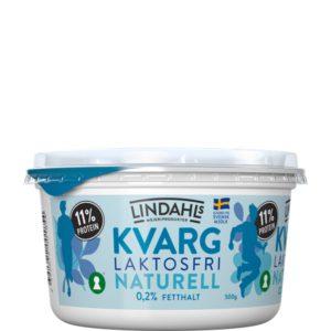 Lindahls kvarg 500g naturell laktosfri