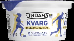 Lindahls_Kvarg_Blåbär_Vanilj_150g_1