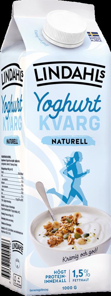 Lindahls Yoghurtkvarg Naturell